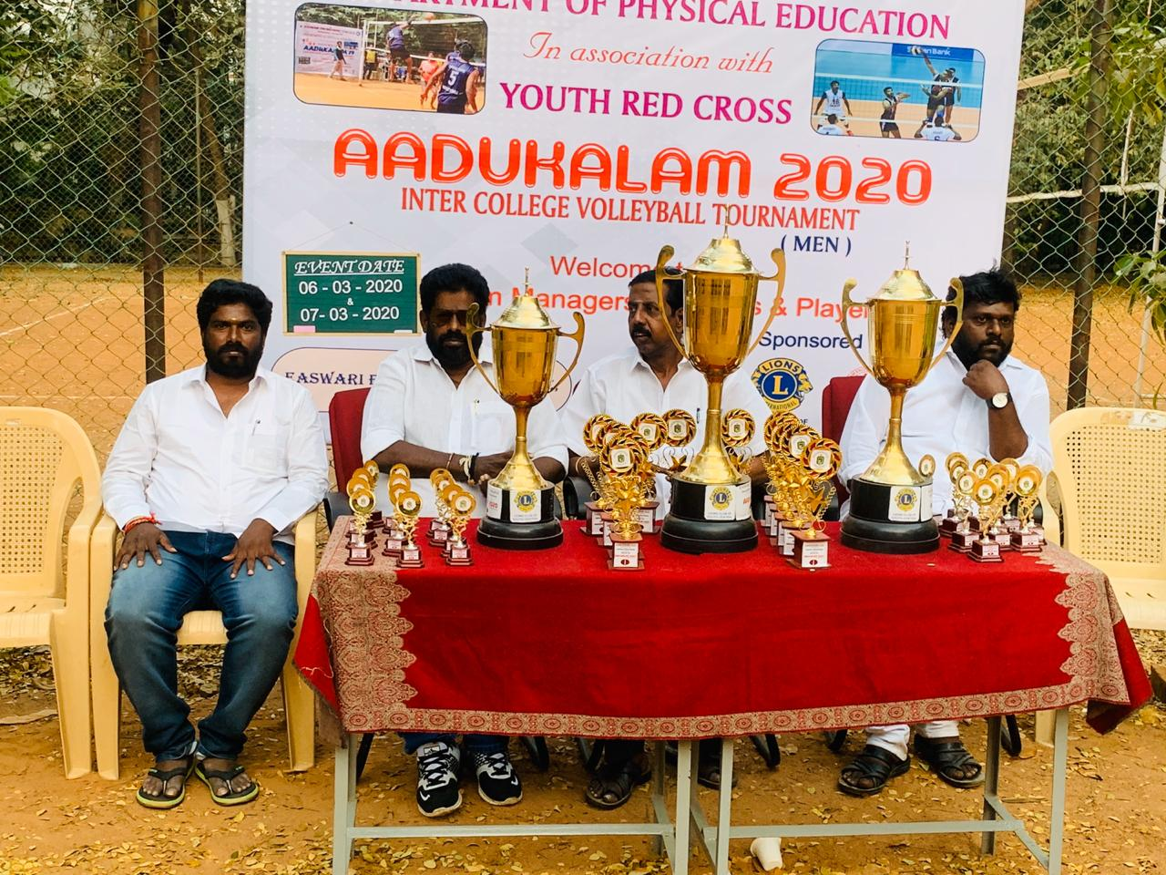 State level Volleyball Tournament (AADUKALAM'20)
